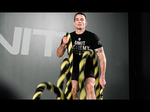 Beginner Battle Ropes Conditioning Workout