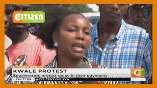 Kwale Enumerators in last Census protest delay in their payments