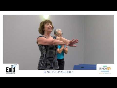 Senior Life Network - Bench Step Aerobics