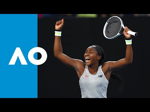 Naomi Osaka vs Coco Gauff - Match Highlights (3R) | Australian Open 2020