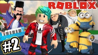 Adventures with the Minions 2 Escape from the Minions Roblox Karim Games Play