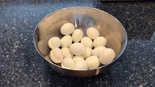 Easy Peel Hard Boİled Eggs