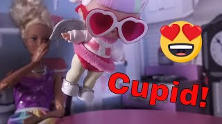 LOL SURPRISE DOLLS Cutie Up As Cupid So Parents Will Stay Home!