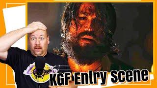 KGF Entry Fight Scene   REACTION   Yash