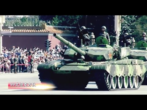 China National Day Parade 2009 : Full Army & Air Force Milit