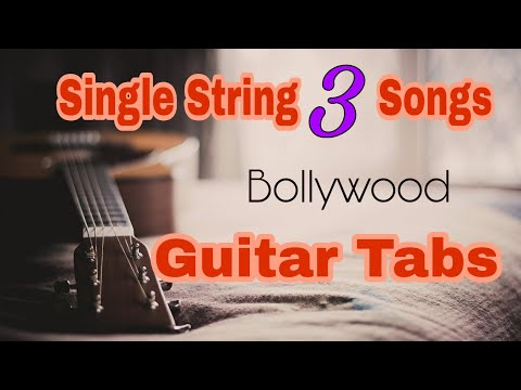 Single String Guitar Tabs | 1 String 3 Songs