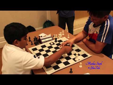 "Chess 2013, Thailand Blitz, Antonio Rogelio Jr ( ""Joey"" Antonio) - Puranik Abhimanyu"