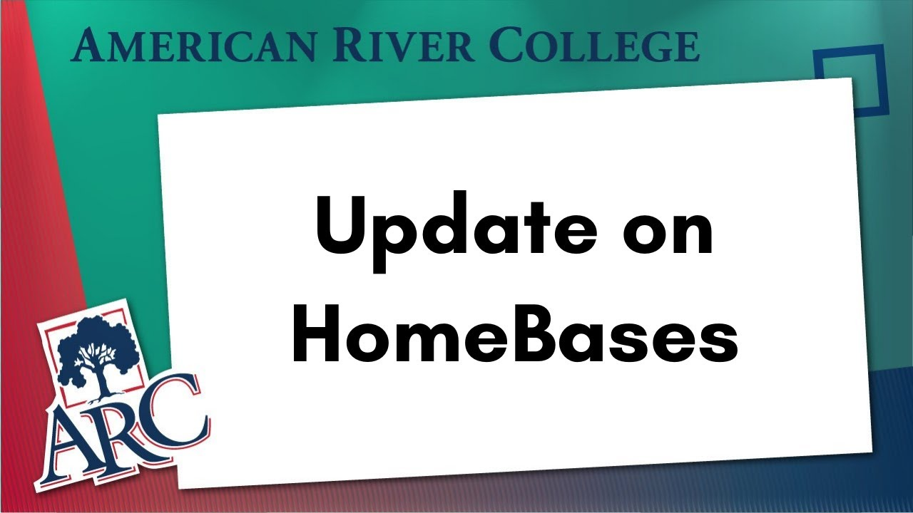 Los Rios (ARC): Update on ARC HomeBases