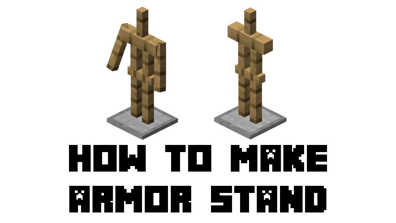Minecraft: How to Make Armor Stand YouTube