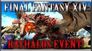 Final Fantasy 14 X Monster Hunter World Rathalos Collaboration Event!