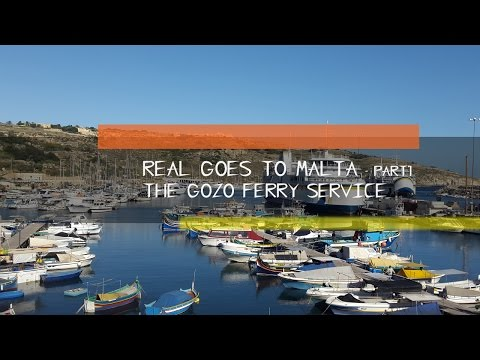 Real Goes To Malta - Part 1 - Georgetown To Gozo