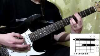 Scorpions Delirious(2015) cover how to play guitar lesson