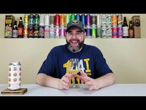 Fresh Froot Peach (Milkshake IPA) | 450 North Brewing Company | Beer Review | #270