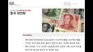 [경제지표 MAC] 중국 위안화