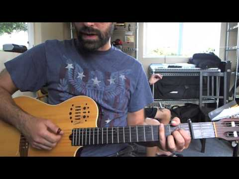 6/8 Guitar Strum Lesson Wreck of the Edmund Fitzgerald