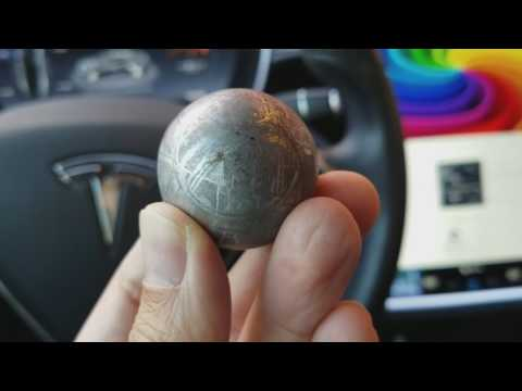Gibeon Meteorite Sphere