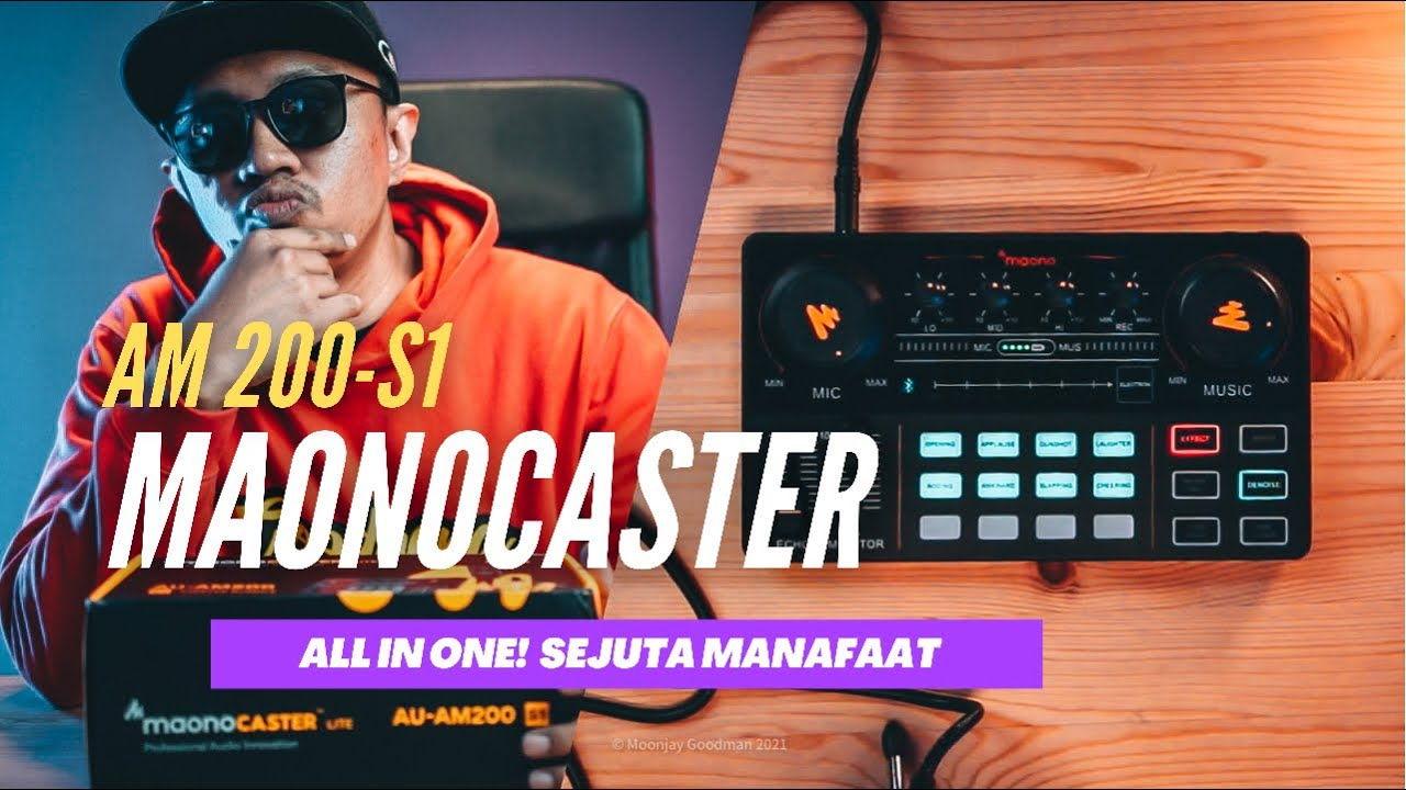 Download Full Review MAONO CASTER LITE AM200-S1 | Khas untuk Streamer atau Podcaster