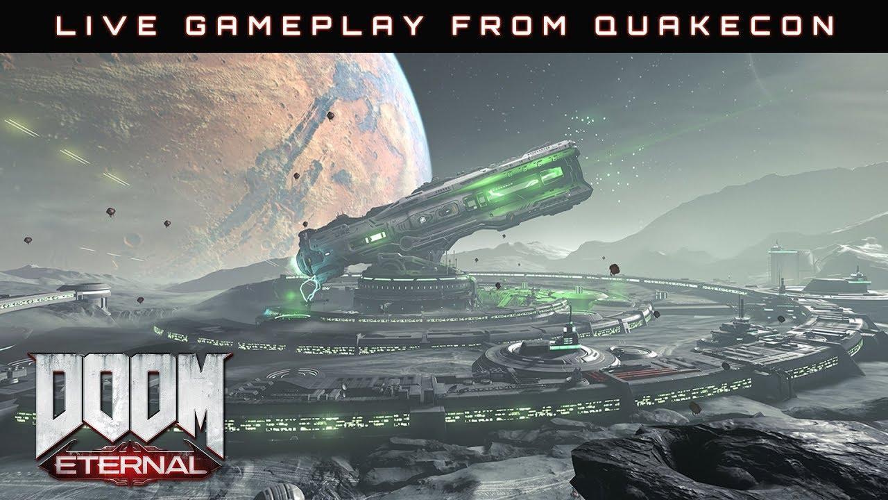 Watch the Doom Eternal gameplay presentation from QuakeCon