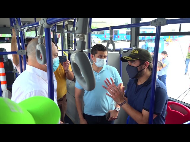 Abierto el pago electrónico en buses del área metropolitana de Barranquilla