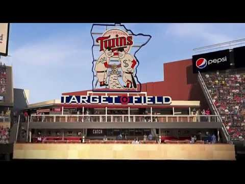 Twins Announce Additions To Target Field - YouTube