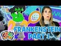 💚⚡FRANKENSTEIN 💚⚡New Story⚡Story Time with Ms. Booksy ⚡Cartoons for Kids