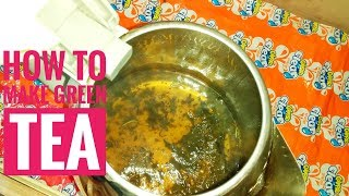 how to make green tea in electric kettle