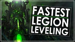 видео legion leveling