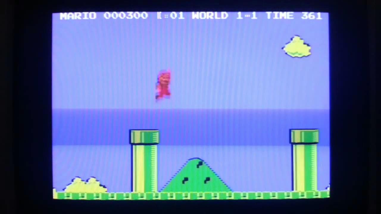 Super Mario Bros Commodore 64 port abandoned?