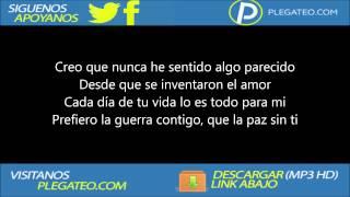 Toby Love - El Aire Que Respiro LYRICS (LETRAS)