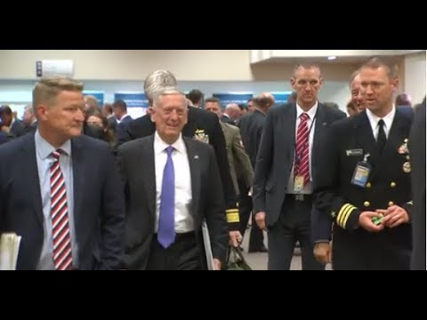 Mad Dog Mattis at NATO Ministers of Defense Meetings