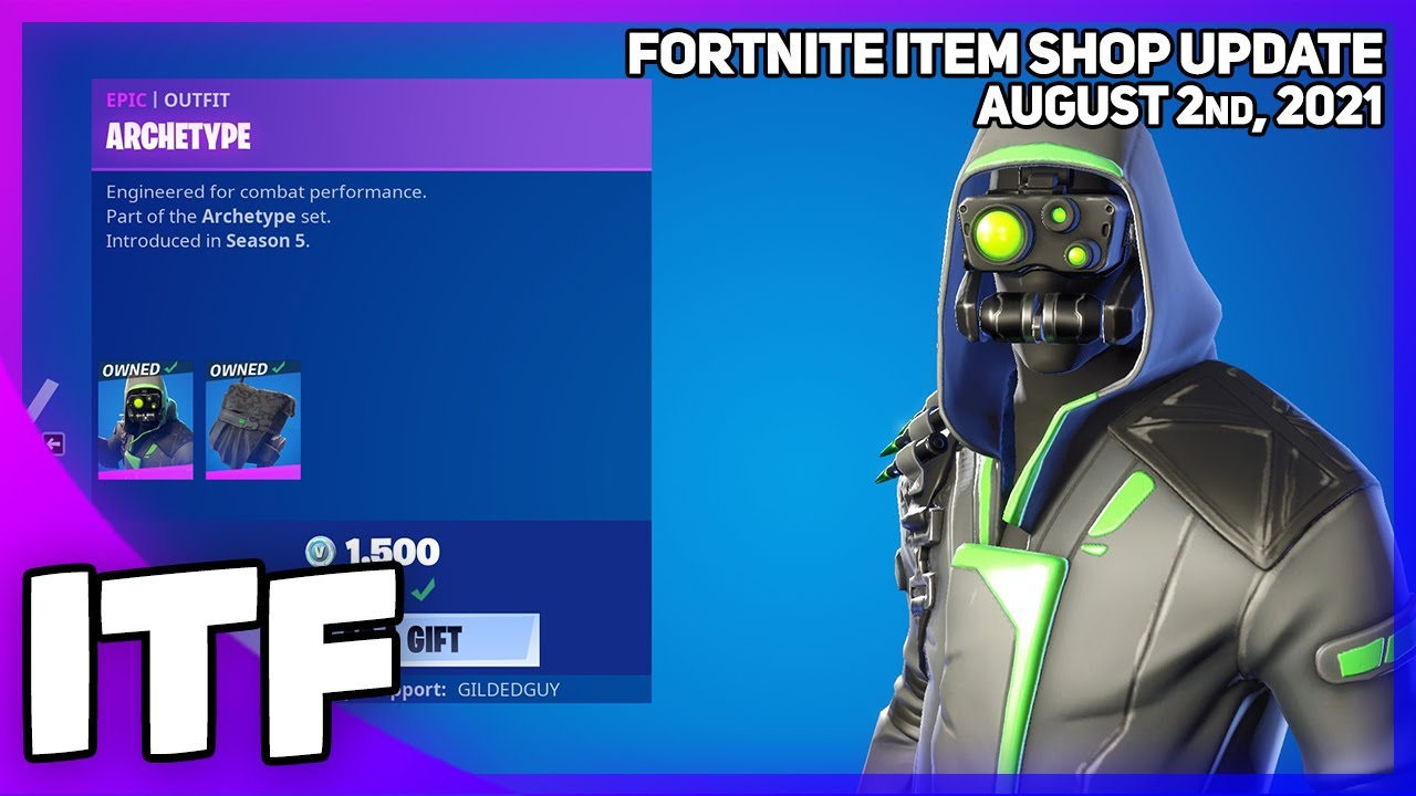 Fortnite Item Shop UPDATE TOMORROW WOOHOOOOOOOOOO! [August 2nd, 2021] (Fortnite Battle Royale)