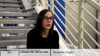 [Licensing per i Beni di Lusso] Testimonianze degli Studenti - Benedetta Maglio
