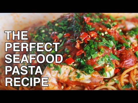 The Perfect Seafood Pasta Recipe By Damian D'Silva Of Folklore | Chefs At Home