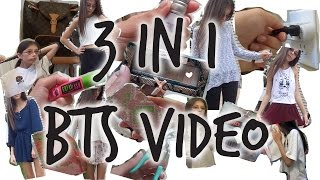 3 IN 1: Get Ready with me, OOTW, Whats In my backpack!!