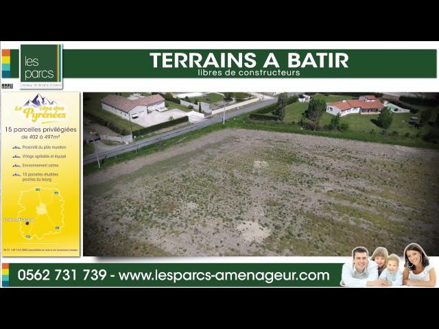 Le clos des Pyrénées - Les Parcs <br/>1 vol et 1 montage : 800€ ht <br/>