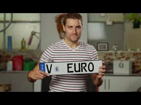 How To Attach Euro Plates To Your Vehicle