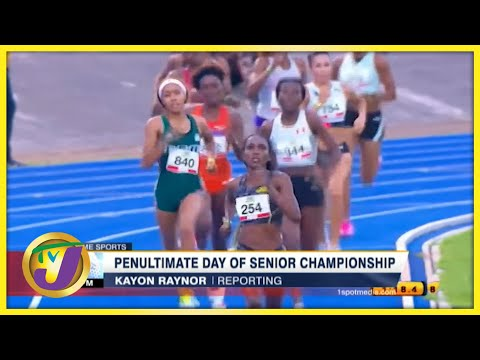 Jamaica's 2021 Track & Field Final Day Highlights -  June 25 2021