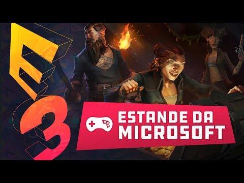 A Microsoft chega COM TUDO na E3 2017. Veja o que ela trouxe para seu estande!!!