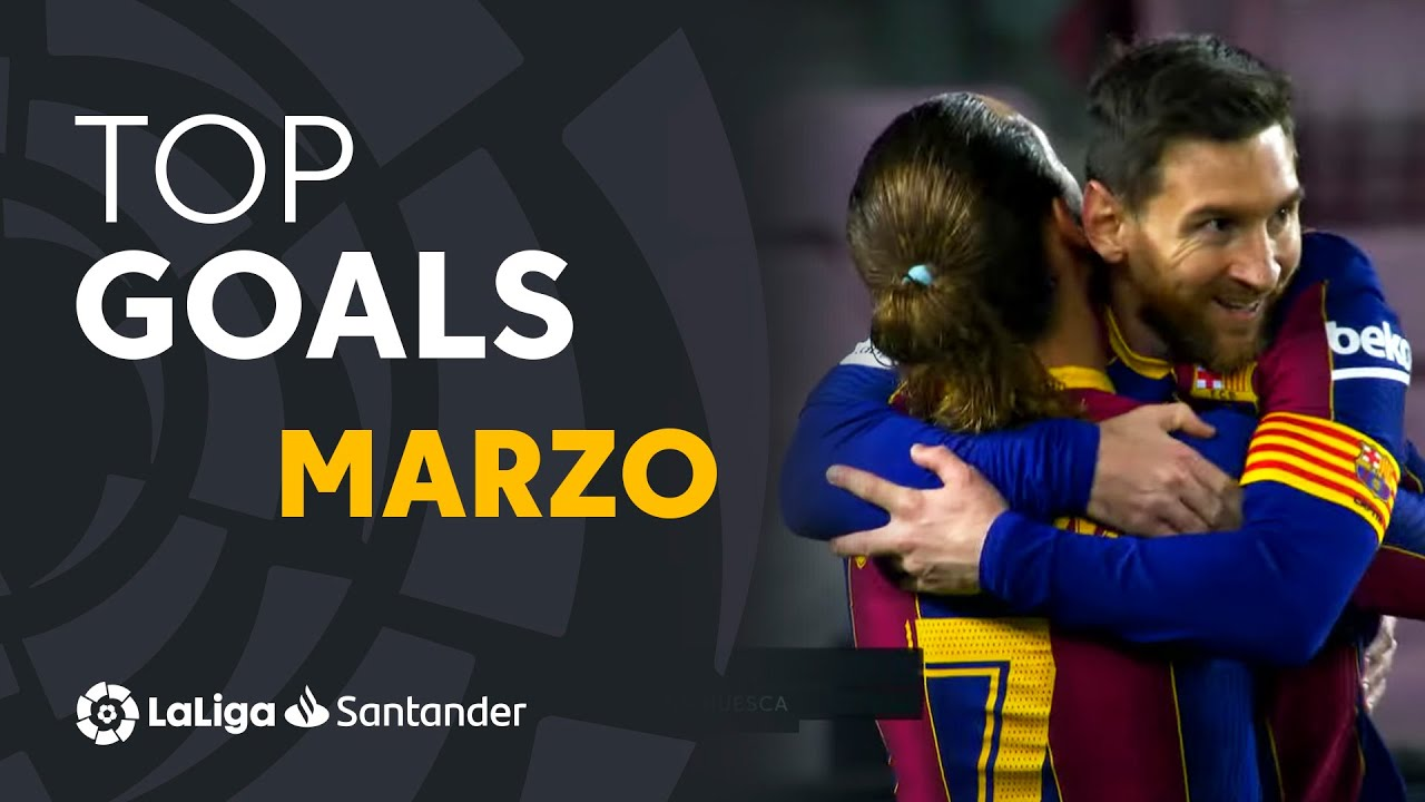 TOP GOLES Marzo LaLiga Santander 2020/2021