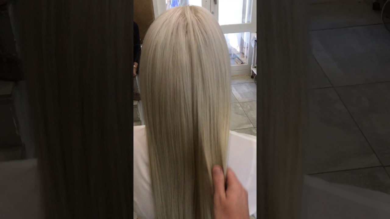 Erabella Clip In Hair Extensions Platinum Blonde 280gram Youtube