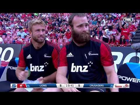 HIGHLIGHTS: 2018 Super Rugby Week 7: Lions v Crusaders