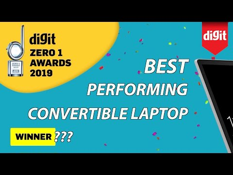 Best Performing Convertible Laptop - Digit Zero 1 Awards 2019