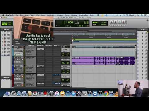 Trap Godz | Pro Tools Preset Template | Mix Class Video Course