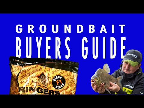 RINGERBAITS F1 BLACK GROUNDBAIT GUIDE - FISHING BAITS