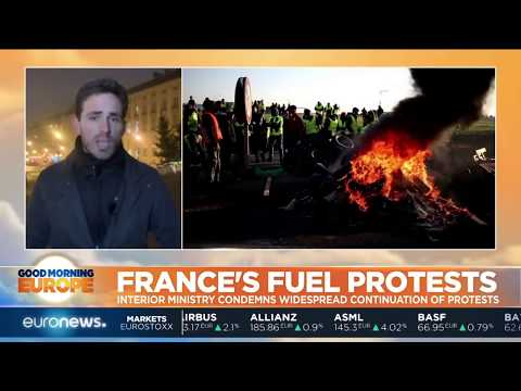 France's fuel protests spread to the French island of Reunion | #GME