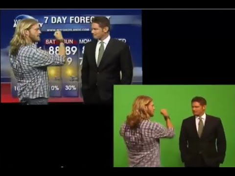 "PNK VIDEO PRODUCTIONS Web Vid TV Station  ""EDGE Does The Weather!"""