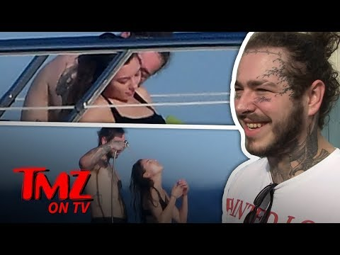 Post Malone On A Yacht With Mystery Woman! | TMZ TV Mp3