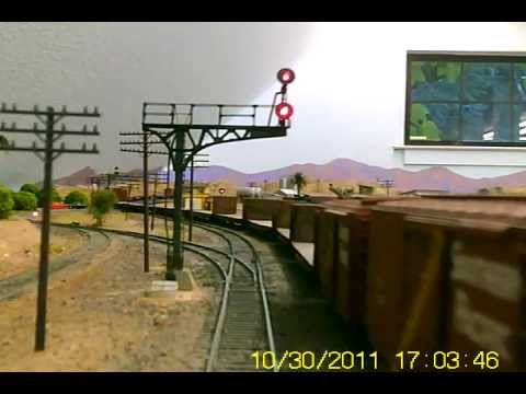 Southern California Railway: meet with signals