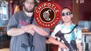 Chipotle Announces No Guns In Chipotle Policy
