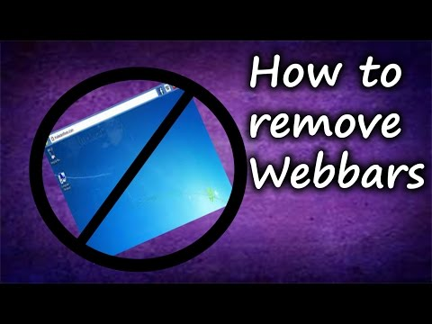 How To Remove Web Bar 2.0! (2019)